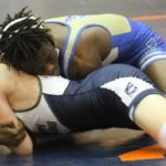 McEachern wrestlers clinch first region duals title since 2011.